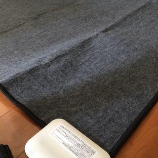 電場磁場カットホットカーペット(サイズ:約175cm x 175cm)