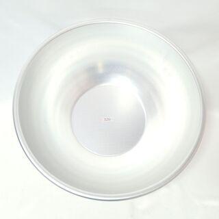 【ネット決済・配送可】CB173 アルミ ボウル 洗い桶 48c...