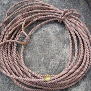業務用 漁師が使用していた丈夫なロープ 水に強い 長さ約20m ...