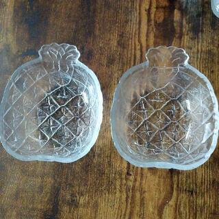 ガラスのお皿2枚