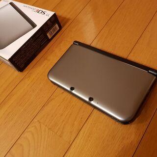 【ネット決済】ニンテンドー3LSLL本体(グレー)+ソフト3本
