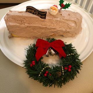 チョコロールケーキ作りしましょう!