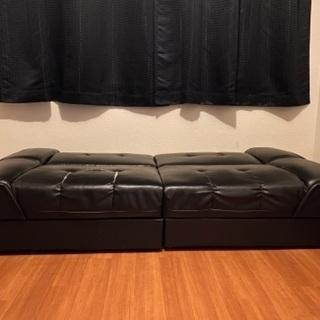シングルソファーベッド譲ります - 家具