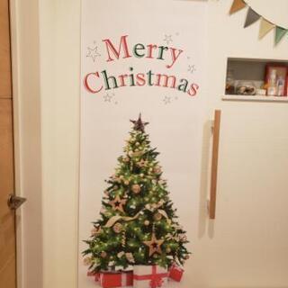 大きなクリスマスツリータペストリー 特注品