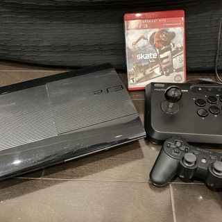 PlayStation 3 本体 + Skate 3 + コント...