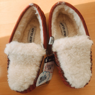 もこもこ 靴 新品 未使用