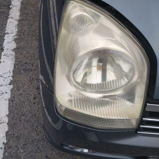 ライトのくもりがひどいと・・・車検通らないことも