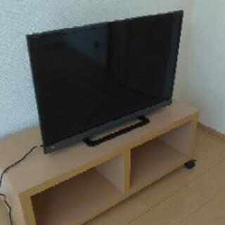 【ネット決済】TOSHIBA REGZA32型(2018)+テレビ台