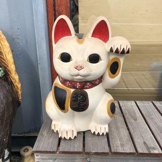 昭和レトロ 特大招き猫