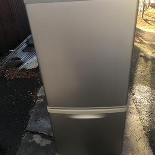 冷蔵庫 パナソニック NR-B142W 2009年製の画像