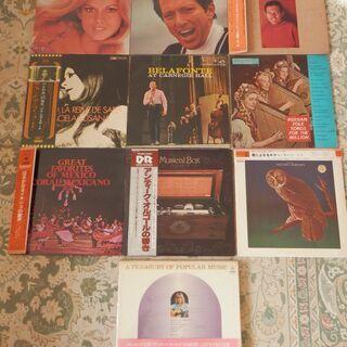 洋楽アナログLPレコード盤 11枚 2,000円で譲ります