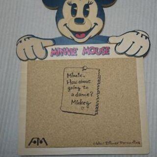ミニーマウスのコルクボード