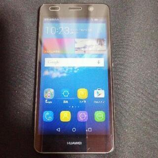Huawei Y6 simフリー スマホとおまけ