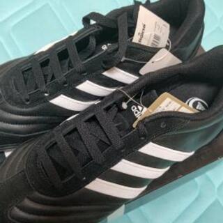 新品 adidas  アディダス ブラック 26.5cm