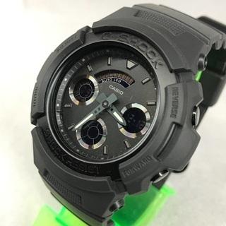 CASIO G-SHOCK ジーショック 黒デジアナ腕時計…