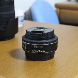 Canon EF-S 24mm STM 広角 単焦点レンズ