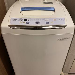 4.5Kg 洗濯機★問題なく使用可能 の画像