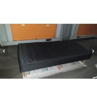黒シングルベッド(1点)