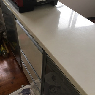 キッチンカウンター 食器棚