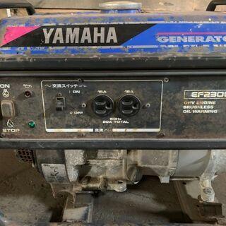【ジャンク】ヤマハ発動機(YAMAHA) ヤマハ オープン型発電機 60Hz EF2300 早いもの勝ち 訳あり品 - 札幌市