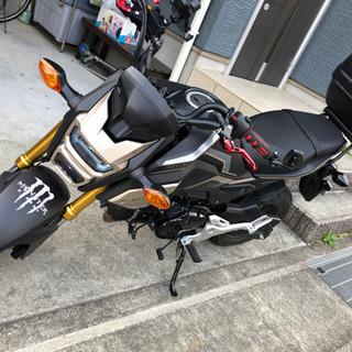 新型GROM125 令和2年8月購入