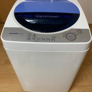 あげます 洗濯機SHARP2006年式39L ES-F456