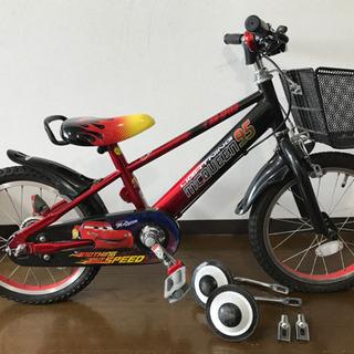 自転車 16インチ カーズの画像