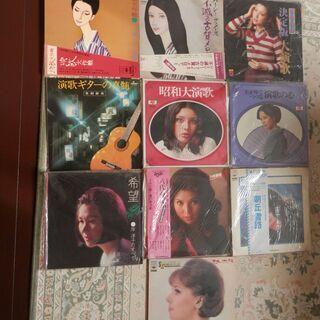 歌謡曲アナログLPレコード盤 10枚 1,500円で譲ります