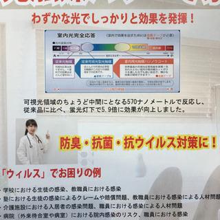 コロナウイルスを不活性化❗️実証済み。