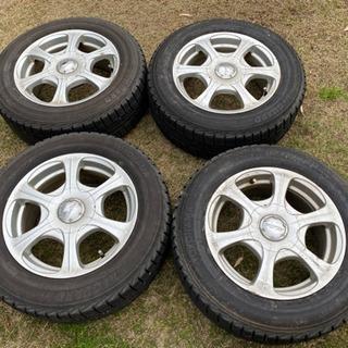 《105》195/65R15 冬タイヤ  スタッドレスタイヤ