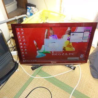 【ネット決済】東芝 一体型デスクトップパソコン