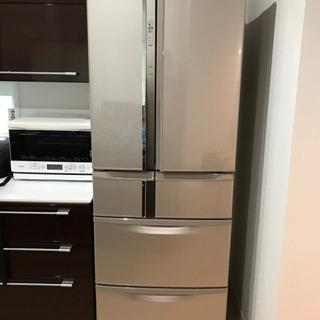 2016年製 三菱冷凍冷蔵庫 保証残り5年以上 465L