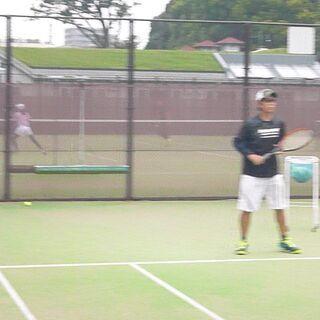 テニス教えます!
