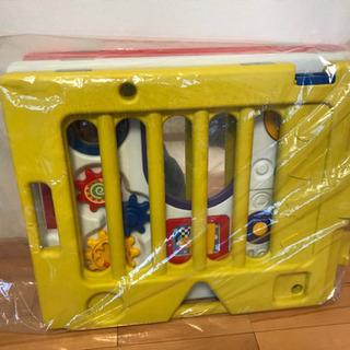 日本育児 ベビーサークル(箱なし、パネル8枚)