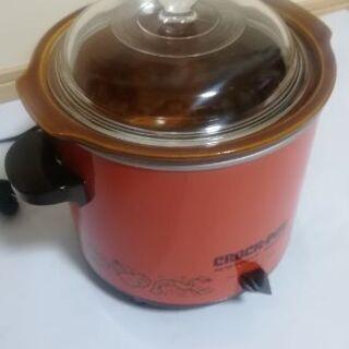 スロークッカー 電気土鍋調理機 煮豆など
