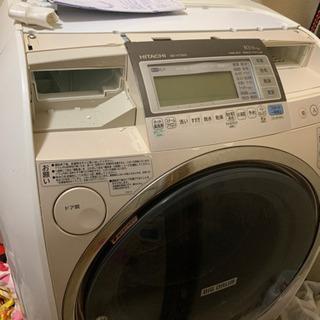 ジャンク品 ドラム式洗濯機