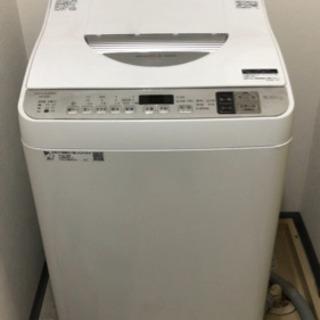 シャープ5キロ洗濯機 使用半年