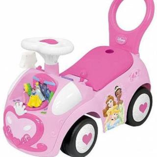 ディズニープリンセス アクティビティ ライドオン 乗用玩具 手押し車