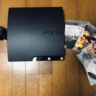 PS3本体+ソフト4本 セット