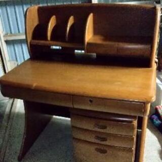 【中古品】木製学習机