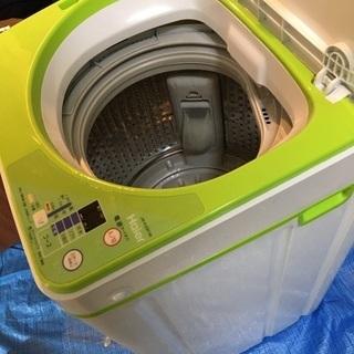 ハイアール コンパクト 洗濯機 3.3kg オマケ:無印良品 キ...