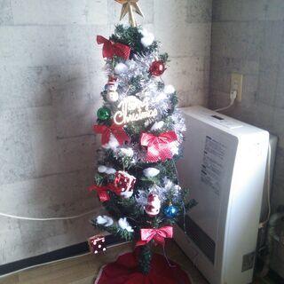 【引取り希望】クリスマスツリーセット120 + クリスマスリース