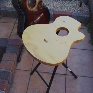 ギター型スツール 新品未使用