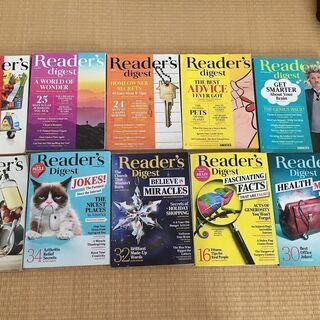 Readers Digest 2018年3月~2019年3月 1...