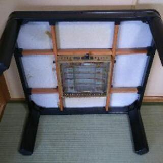 【取引中】コタツ ジャンク あげます  75cm×75cm高さ36cm 正方形 - 家具