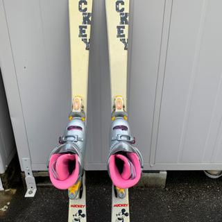 ミッキーのかわいいスキー120