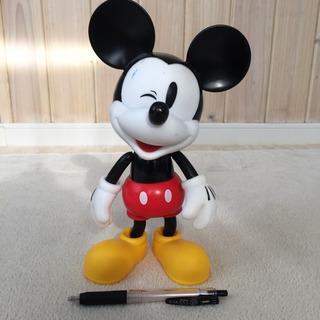 〜お取引き完了〜ミッキー★プラ製 おもちゃ 人形 可動