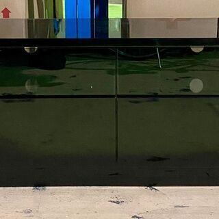 値下げ‼︎鏡仕上げ ブラック TVボード 大容量引き出し付き