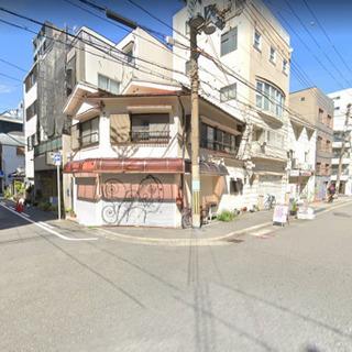 希少な店舗付き住宅♫駅まですぐで角地♫軽飲食店可能♫
