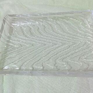 ガラスのお皿 13×18cm 5枚セット